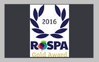 RoSPA Awards - Gold
