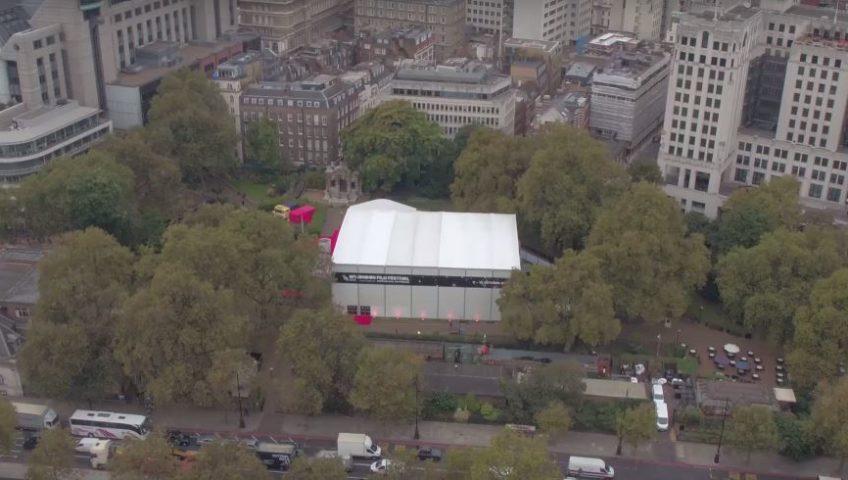 Westminster Gardens Becomes A Cinema