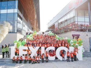 opening ceremony for Bracknell's new Lexicon shopping centre