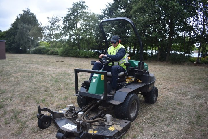 Ride On Mower and Operator