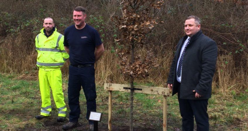 Warrington Oak Tree Planting