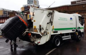 Refuse Collection Vehicle in Wandsworth
