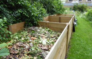 Compost bays in Churchill Gardens Westminster